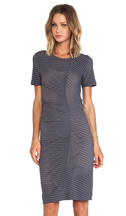 Jamie Stripe Jersey Dress