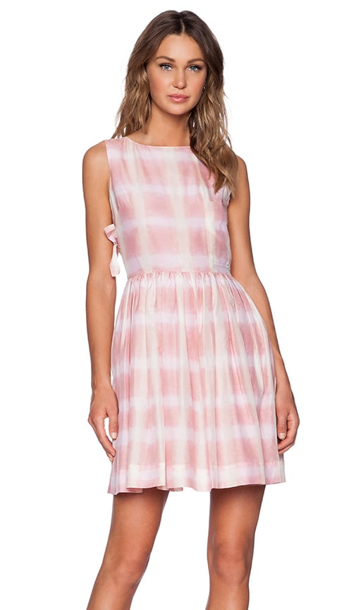Blurred Gingham Dress Marc By Jacobs