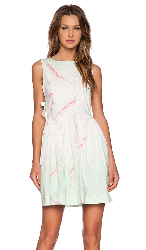 Milk Marble Dress