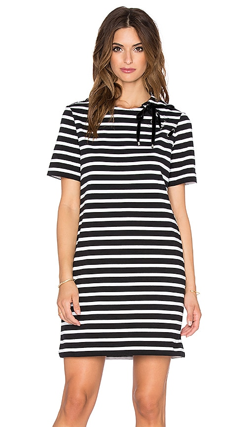 Marc by Marc Jacobs Jacquelyn Stripe Dress in Black Multi