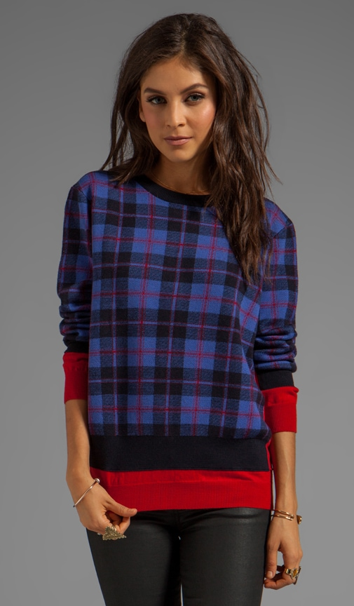 Aimee Plaid Sweater