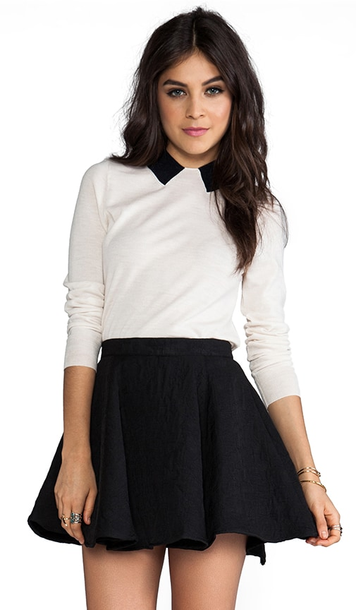 Dorothy Collar Sweater