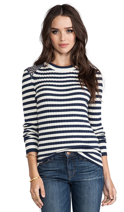 Reena Stripe Sweater