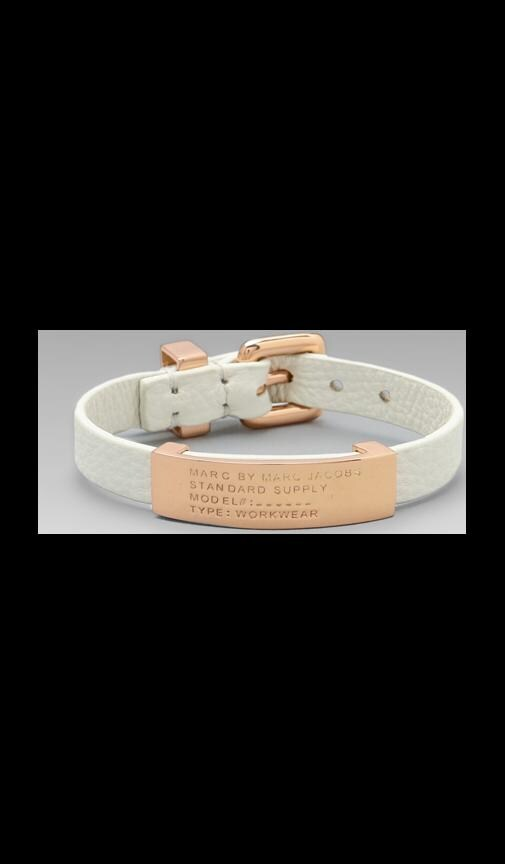 Leather Standard Supply ID Bracelet