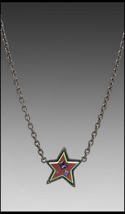 Reluctant Stars Chunky Star Necklace