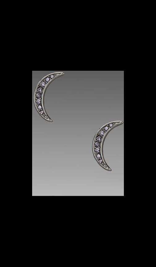 Reluctant Stars Moon Studs