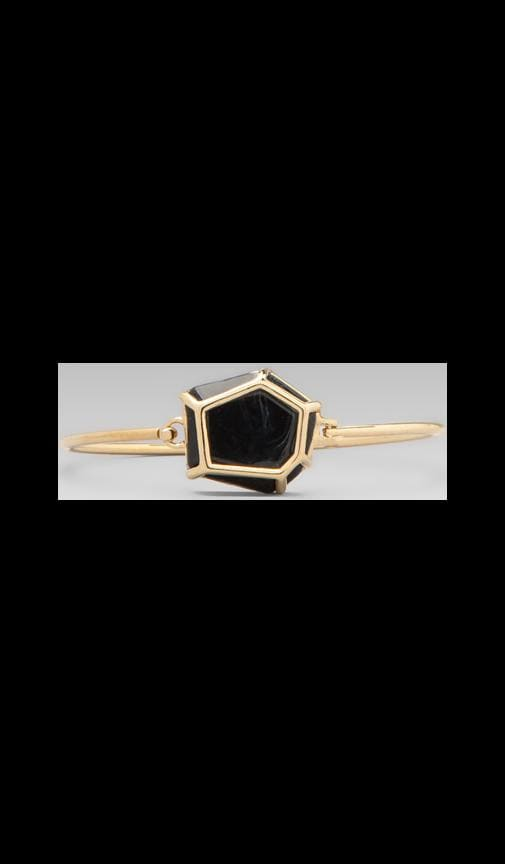 Caged Gem Hinge Cuff