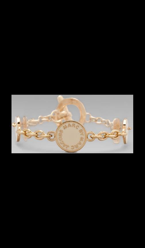 Classic Marc Toggle Charm Bracelet