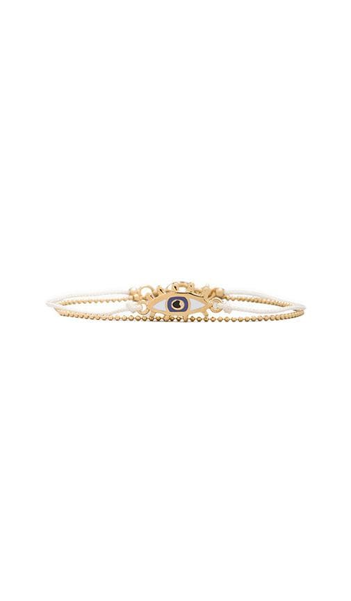 Enamel Eye Friendship Bracelet