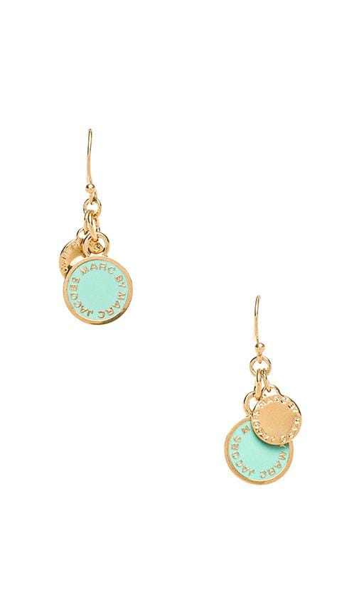 Classic Marc Enamel Discs Earrings