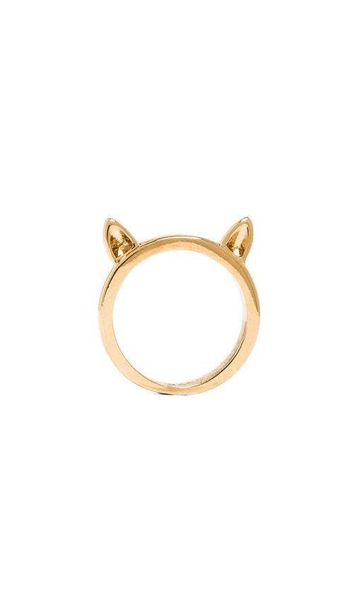 Octi-Bolts Cat Ears Ring