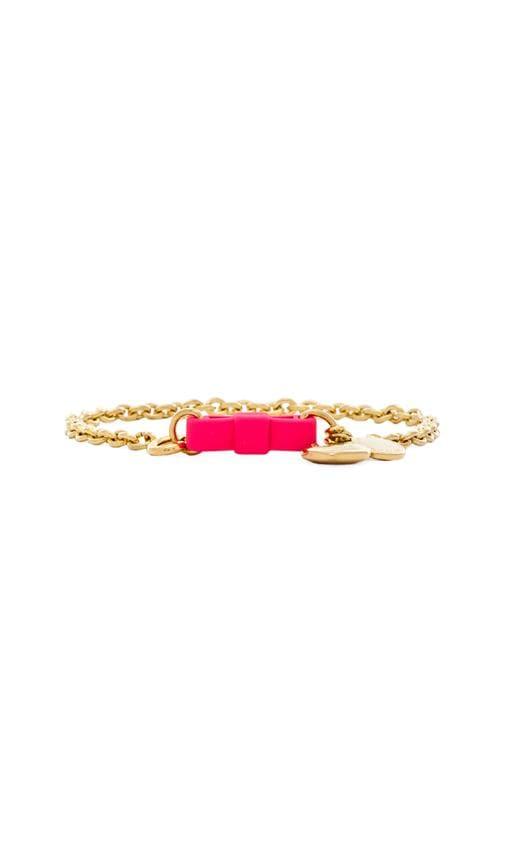 Lost & Found Bow Tie Bracelet w/ Puffy Heart