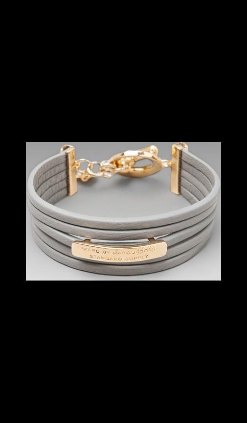 Multi Leather Toggle Bracelet