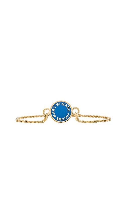 Enamel Disc Bracelet