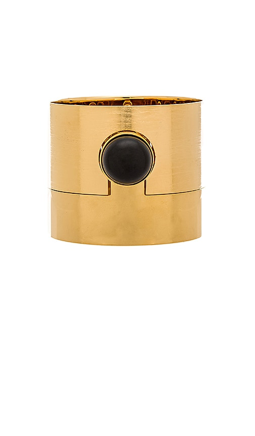 Marc by Marc Jacobs Puzzle Cabochon Bangle in Oro Multi