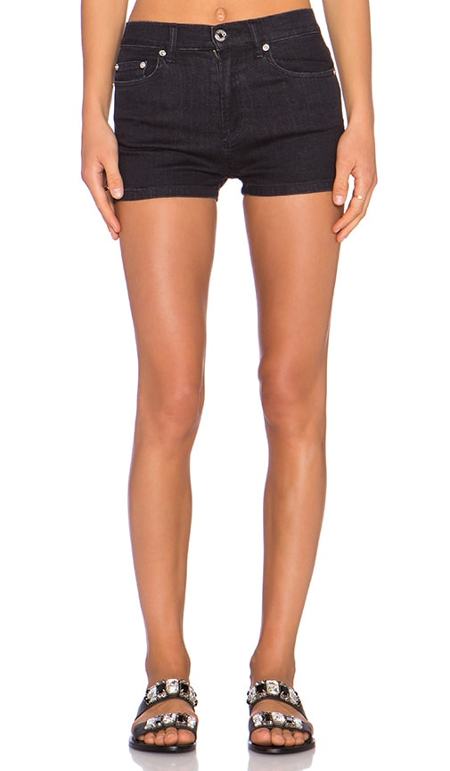 Marc by Marc Jacobs High Waisted Short in Raven Black