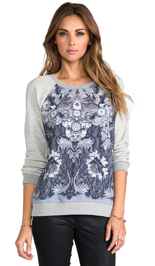 Lena Printed Sweatshirt