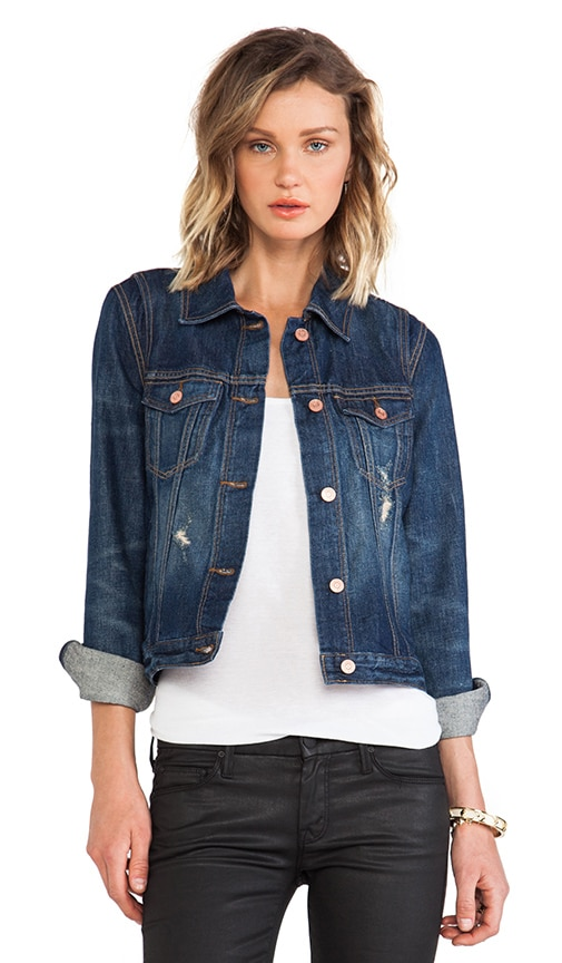 Pieced Denim Jacket