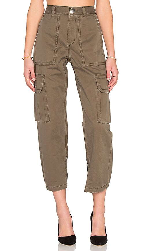 Marc by Marc Jacobs Cotton Twill Cargo Pant in Sully Green