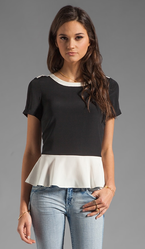 Resort Avery Peplum Top
