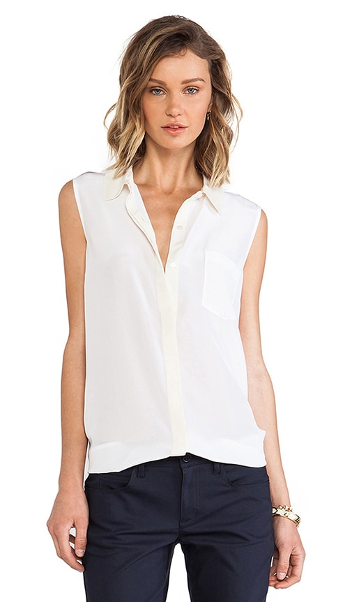 Frances Button Down Tank