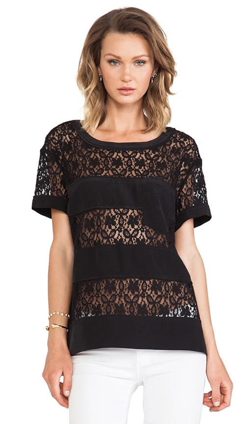 Leila Lace Top