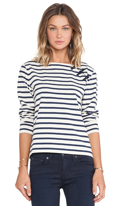 Jacquelyn Stripe Top