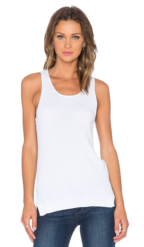 Marc by Marc Jacobs Cotton Sweater Tank in White