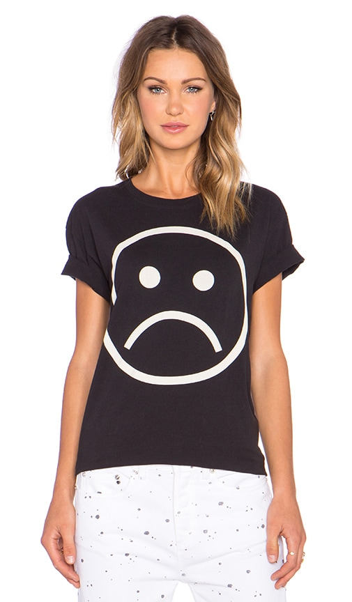 ee6f7f6cfa197 Marc by Marc Jacobs Sad Face Tee in Black Multi