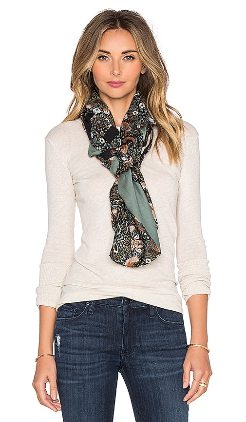 Marc by Marc Jacobs Strawberry Thief Scarf in Elm Brown Multi