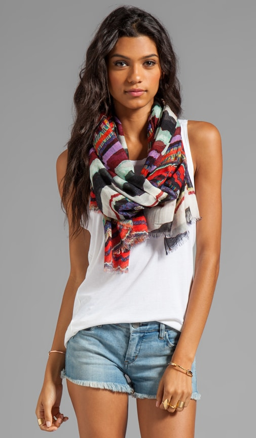 Flag Stripe Scarf