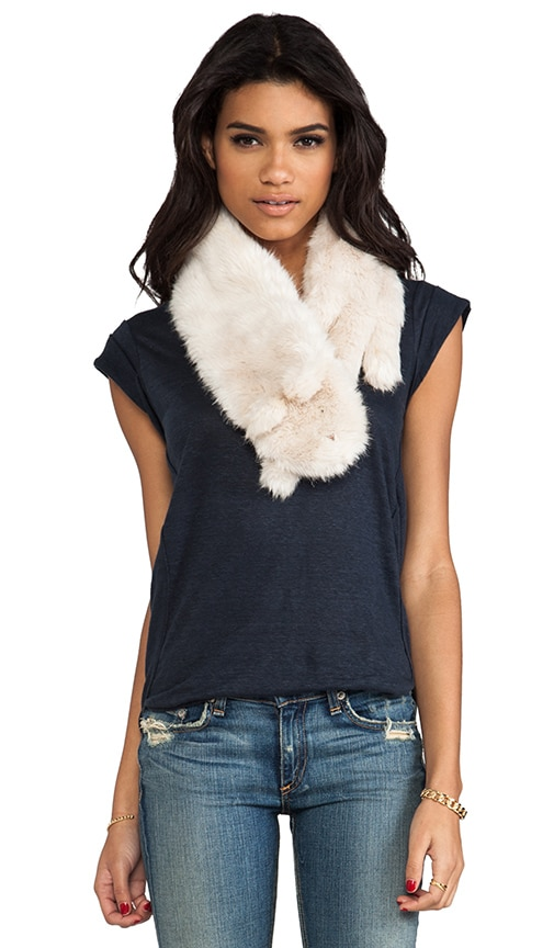 Rue Faux Rabbit Fur