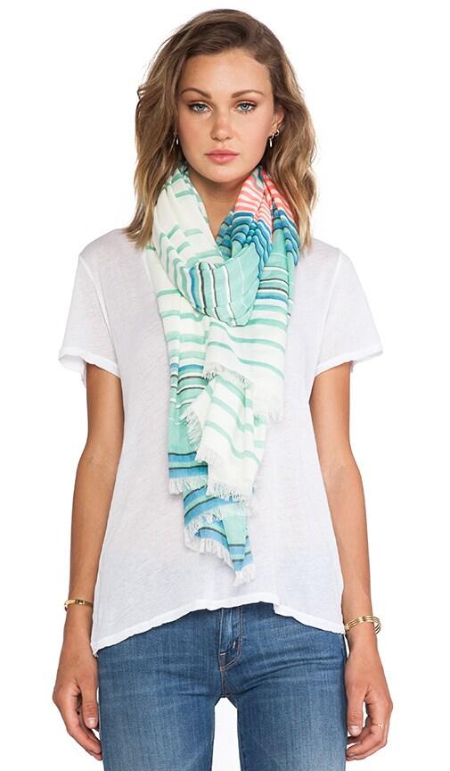 Paradise Stripe Yarn Dye Scarf