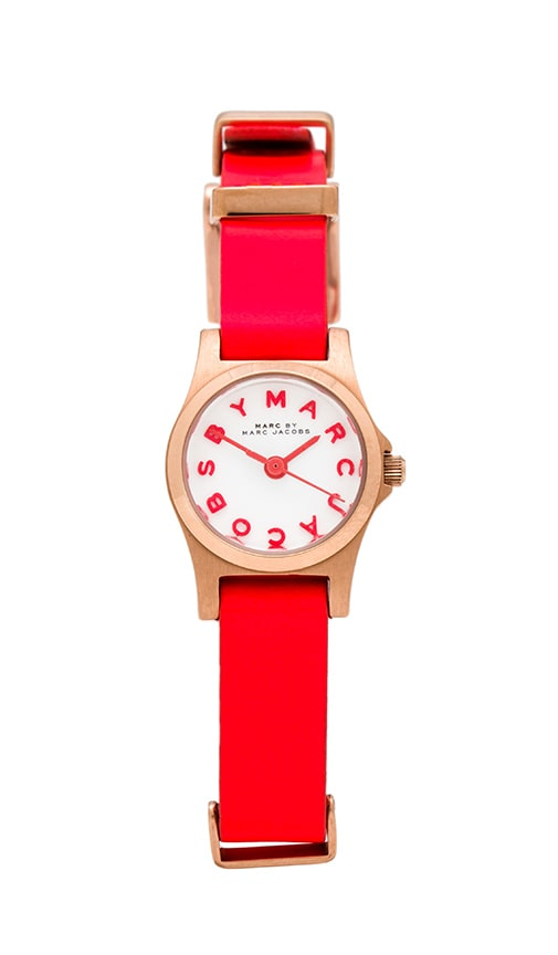Marc by Marc Jacobs Henry Dinky Watch in Orange