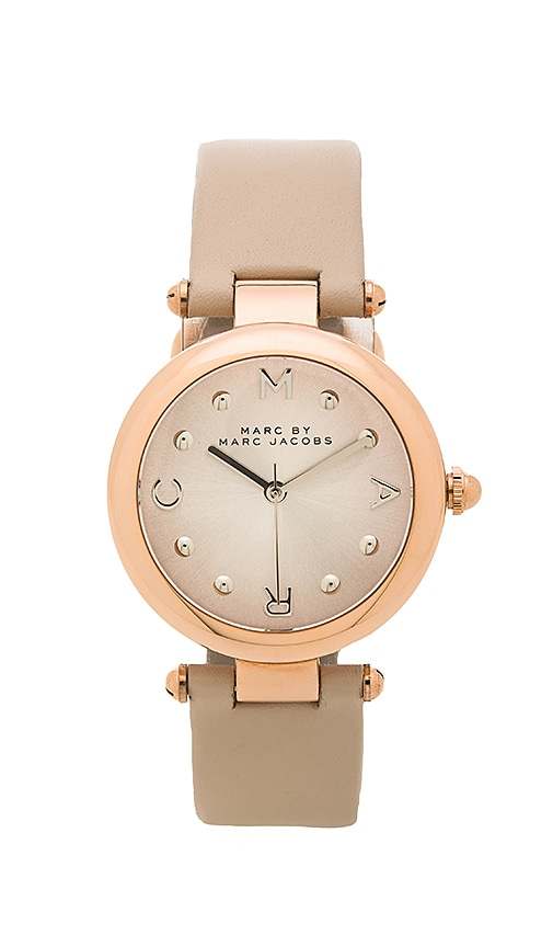Marc by Marc Jacobs Dotty Watch in Papyrus & Rose & Silver