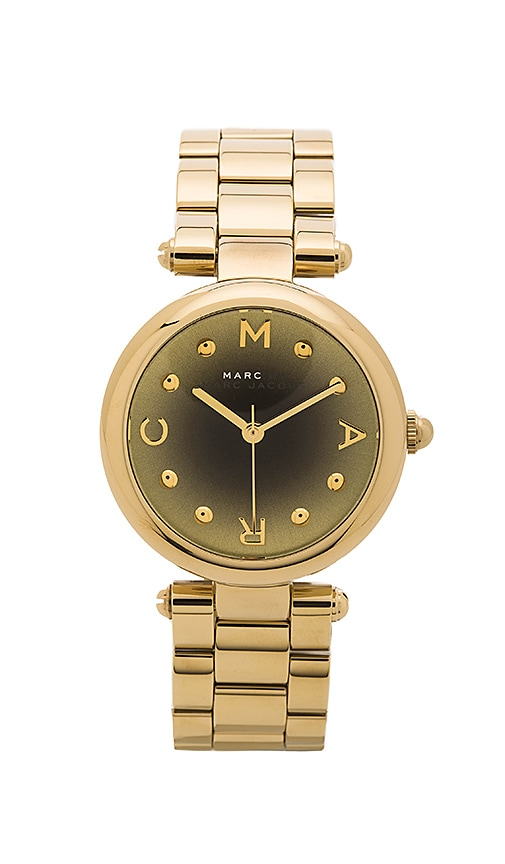 Marc by Marc Jacobs Dotty Watch in Gold & Black