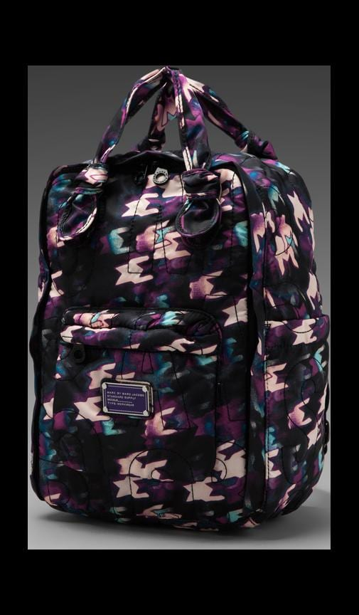Pretty Nylon Printed Knapsack