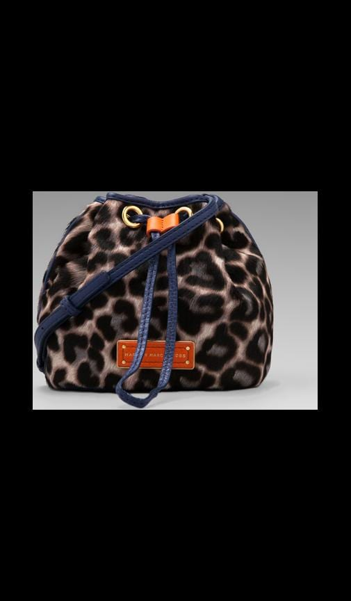 Too Hot to Handle Leopard Mini Drawstring