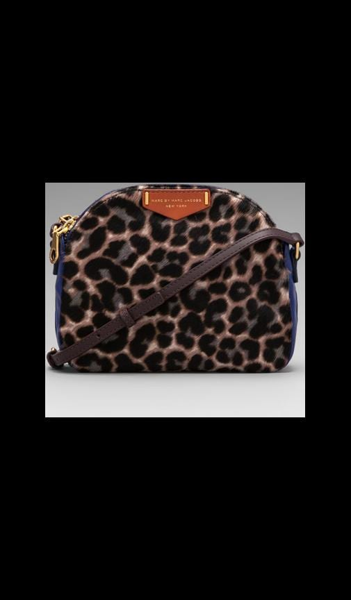 Downtown Lola Leopard Crossbody