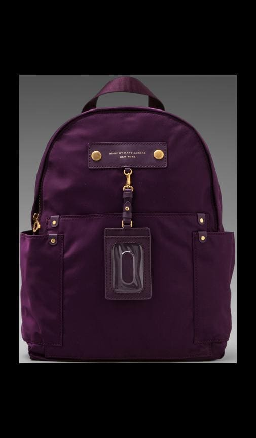 Preppy Nylon Backpack