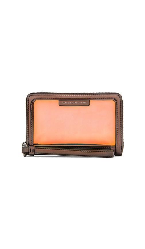 Crystal Clear Wingman Wallet