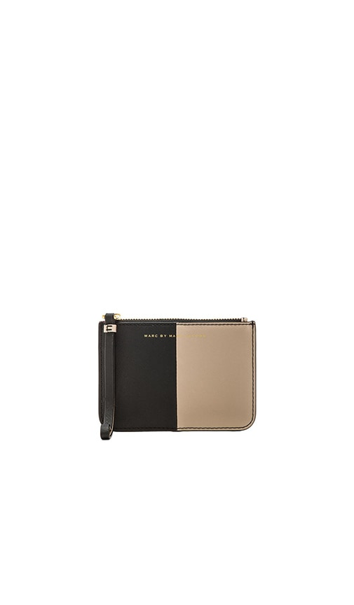 Sophisticato Halfsies Small Wristlet with Key Ring