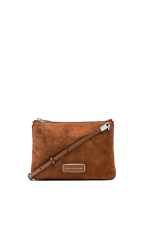 Ligero Sporty Suede Double Percy Crossbody