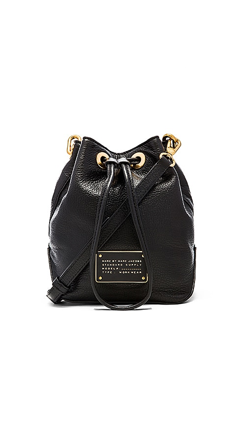Marc by Marc Jacobs New Too Hot To Handle Drawstring Bag in Black