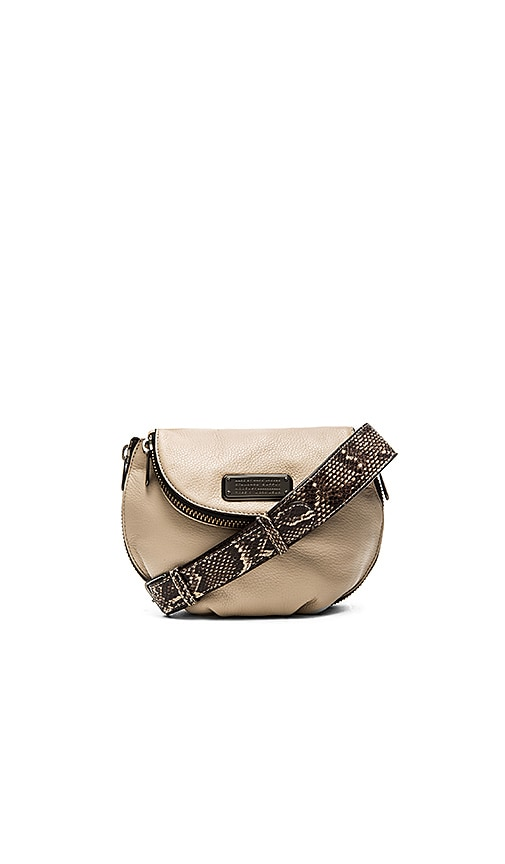 Marc by Marc Jacobs New Q Zippers Mini Natasha Crossbody Bag in Papyrus Multi