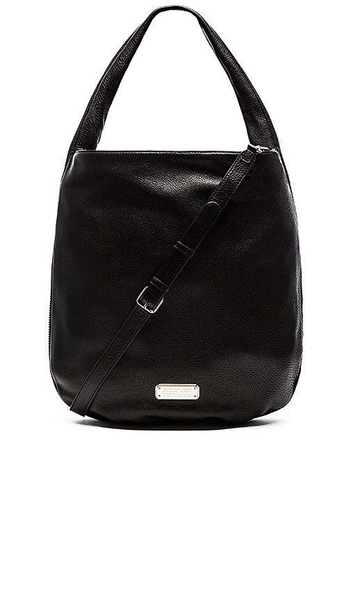 Marc by Marc Jacobs New Q Zippers Huge Hillier Hobo Bag in Black Multi