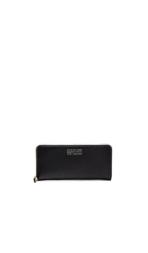 Marc by Marc Jacobs Quintessential Colorblocked Slim Zip Around Wallet in Black Multi