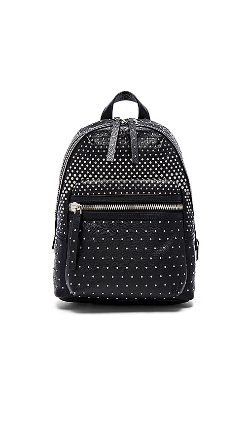 Marc by Marc Jacobs Domo Biker Degrade Studs Backpack in Black