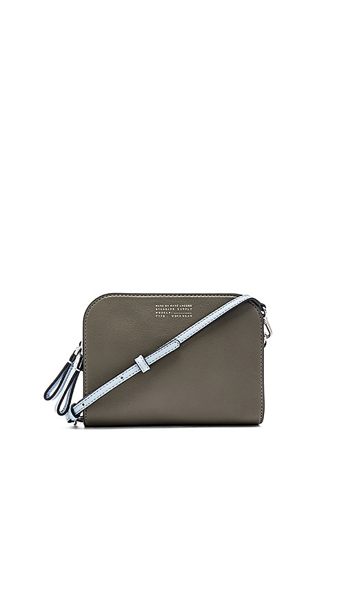 Marc by Marc Jacobs Tricolor Lux The Double Wallet in Military Green Multi