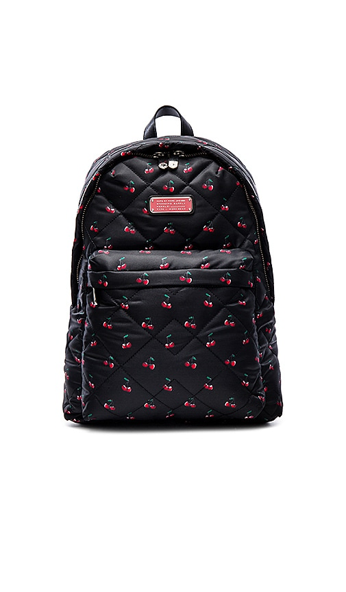 Marc by Marc Jacobs Crosby Quilt Nylon Printed Fruit Backpack in Cherry Print